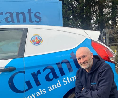 grants removals Surrey vans