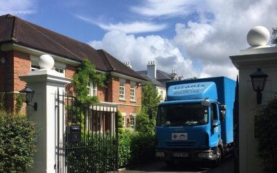 Short move for celebrity in north London